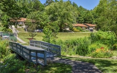 Hawthorne Townhomes in Haw Creek of East Asheville
