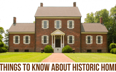 6 Things To Know Before Buying a Historic Home