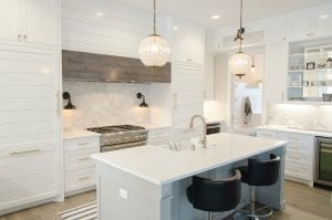 home staging, open clean kitchen